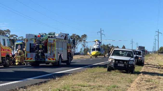 One person dead following 'erratic driving' highway incident