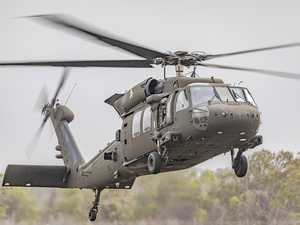 Black Hawk helicopters to fight bushfires