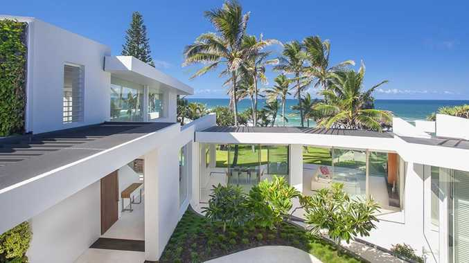 Beach house smashes record by selling for $34 million