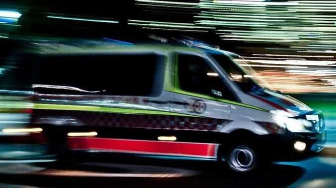Hospitalisation after two-vehicle CQ crash