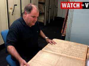 Inside The Courier Mail's archives of historic newspapers