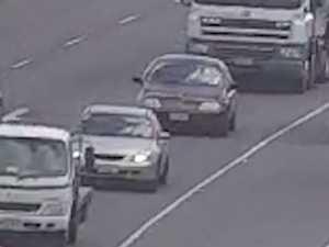 Cars used in alleged bikie shooting seen in Ipswich