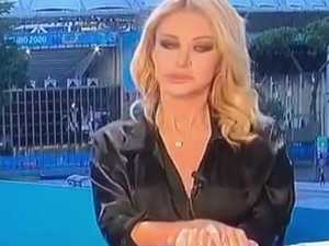 TV host denies 'Sharon Stone' moment