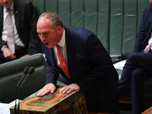 Deputy PM Barnaby Joyce 'channels inner Paul Keating'