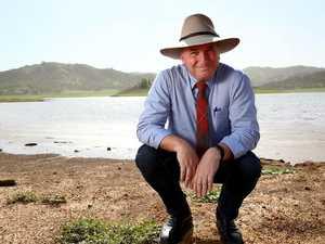 Barnaby Joyce has 'massive cut through in the bush'