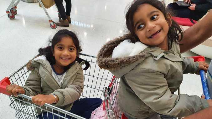 Innocent image marks major milestone for Biloela girls