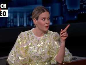 Sarah Paulson reveals mortifying Matthew Perry encounter (Jimmy Kimmel Live!)