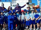 Maryborough West State School Students, Class 3W enjoying there visit to the Fraser Coast Show. - User Contributed