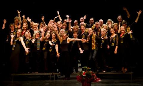 New World Rhythm choir