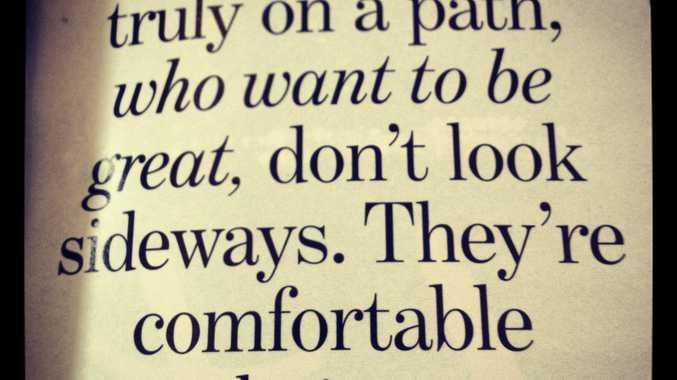 Some wisdom from Delta Goodrem.