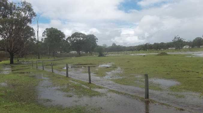 Photo of flooding at Crows Nest.
