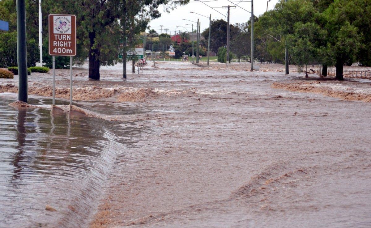 The 2013 Warwick floods.
