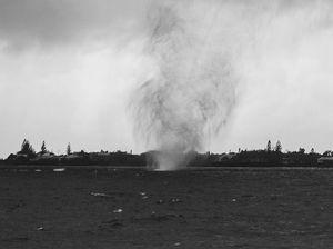 Waterspouts off Bargara
