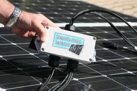Remote Solar Isolator Extra Low Voltage Solar Safety System