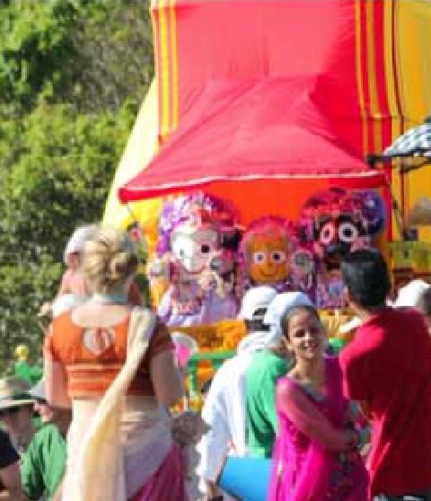 Biggest Hare Krishna event