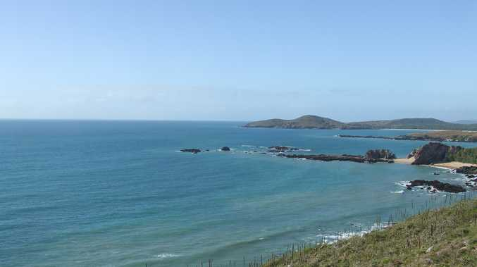 The beautiful Stanage Bay in all its glory.  Livingstone mayor Bill Ludwig is keen to access new federal funds to fix up Stanage Bay Rd.