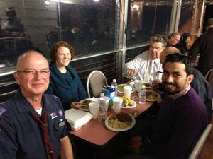 Scouts attend community Ramadan dinner
