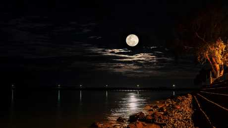 A full moon can make people act particularly peculiar, sometimes even a little strange.