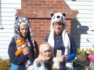 Garage sale raises funds for Guides