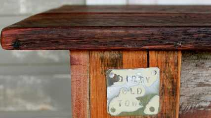 One of a Kind, Dirty Old Town Furniture