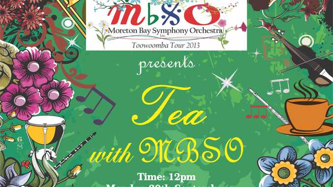 Music and tea with the Moreton Bay Symphony Orchestra