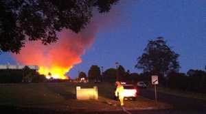 Fire at Terranora Country Club 071013
