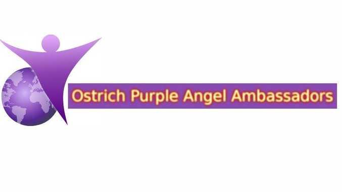 Purple Angel In Queensland
