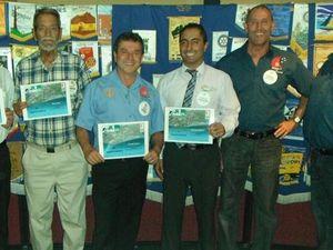 Local Rotarians lend a helping hand