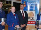 Downlands buys a bale to support drought hit farmers