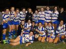 The Holy Spirit College Open League Girls Team have emerged victors of the Skills Training Mackay Schoolgirls Rugby League competition after winning every game in the competition.
