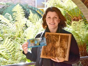 DIY Art Souvenirs at Downlands Exhibition