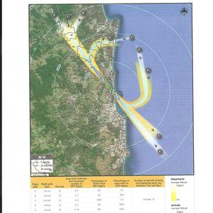 opinion new flight path planned over noosa hinterland