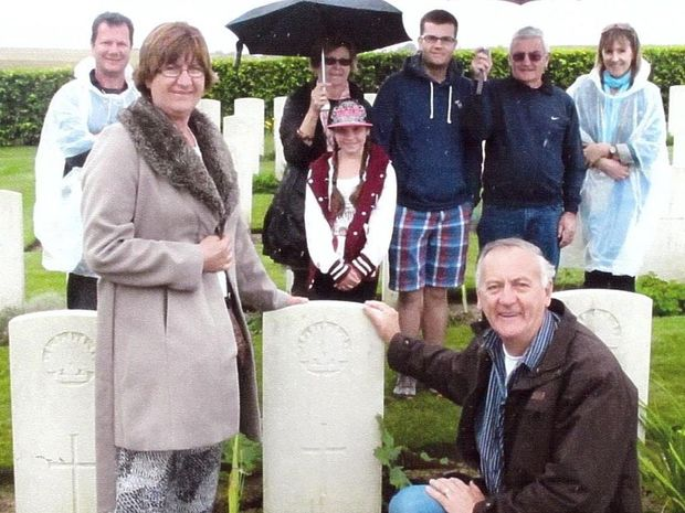 The Churchill family returns to WW1 battlefields to find a lost loved one.