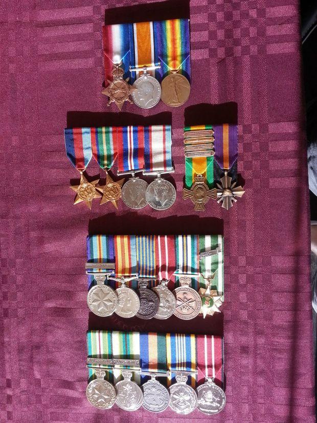 My family war history