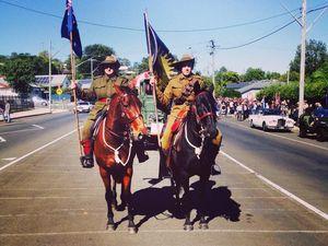 Light Horseman Ride into Town !!