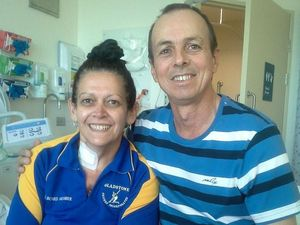 Tracey marks milestone after double lung transplant