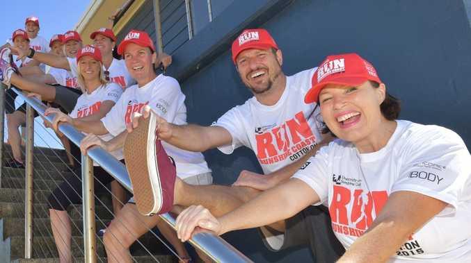 The MixFM lace up for Run Sunshine Coast