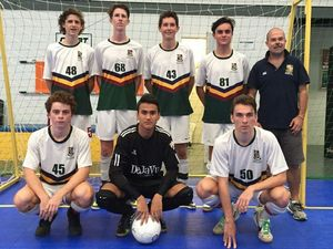 Grammar Under 19 Futsal boys victorious at titles