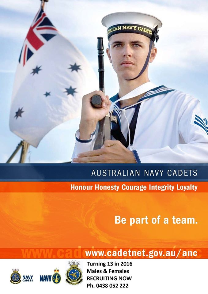 Navy Cadets Open Day 26th January 2016