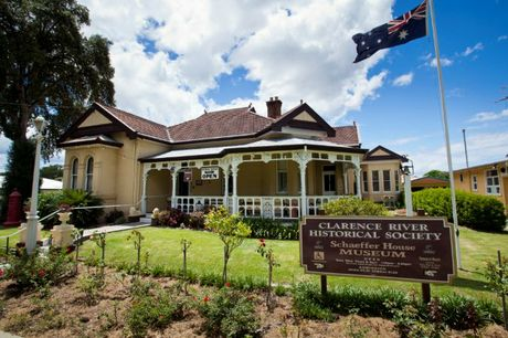Home of the Clarence River Historical Society, Schaeffer House Museum in Fitzroy St, Grafton.
