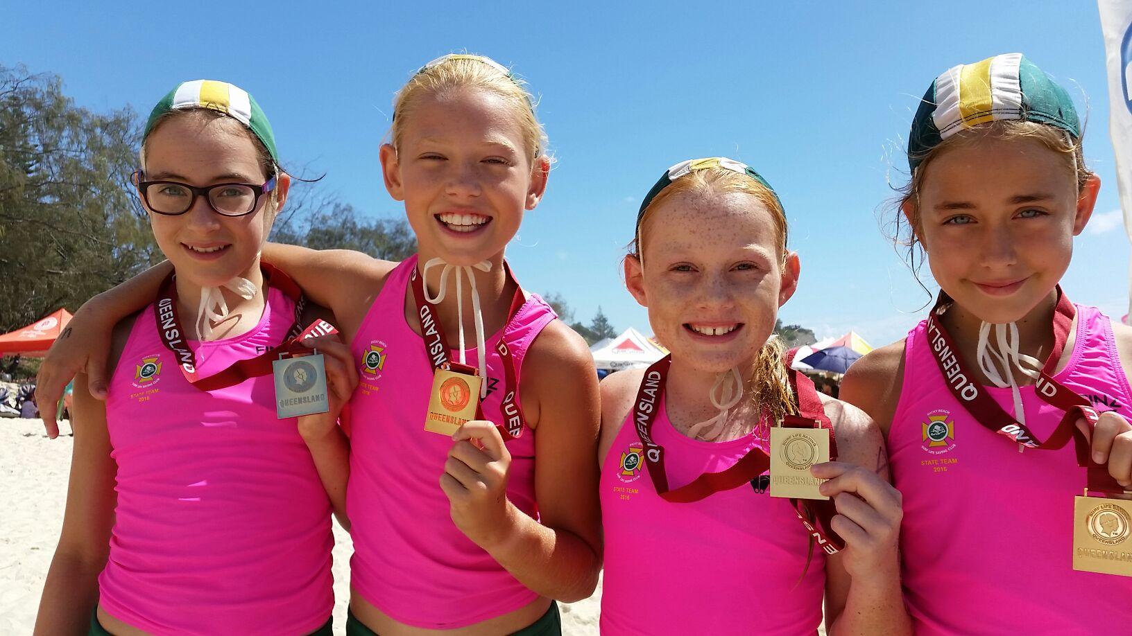 Dicky 'Beachies' win Queensland GOLD.