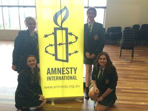 Students plan to start an Amnesty International Club