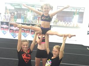 Nambour cheerleader in the running for Cheer Leader of month