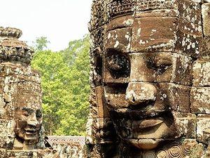 WATCH: Exploring Bayon Temple, Cambodia