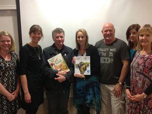 Literary dinner unites teacher librarians