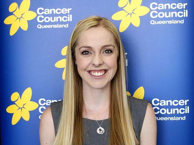 Cancer Council Queensland spokesperson Katie Clift