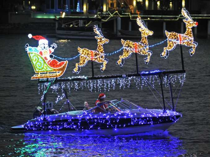 Get in the spirit of Christmas by lighting your house or boat for the annual Parade. Credit Mike Kenyon.
