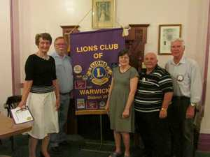 Lions Club of Warwick welcomes new members