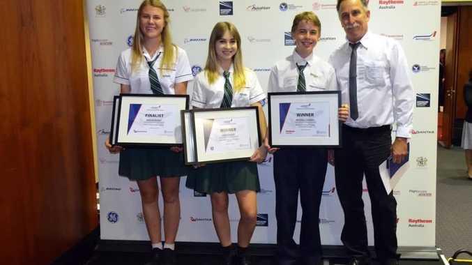 Noosa High flies high at aviation awards.