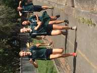 Noosa District State High School students completed the cross country today circumnavigating the perimeter of the school grounds, with students starting the race in the centre of the oval.